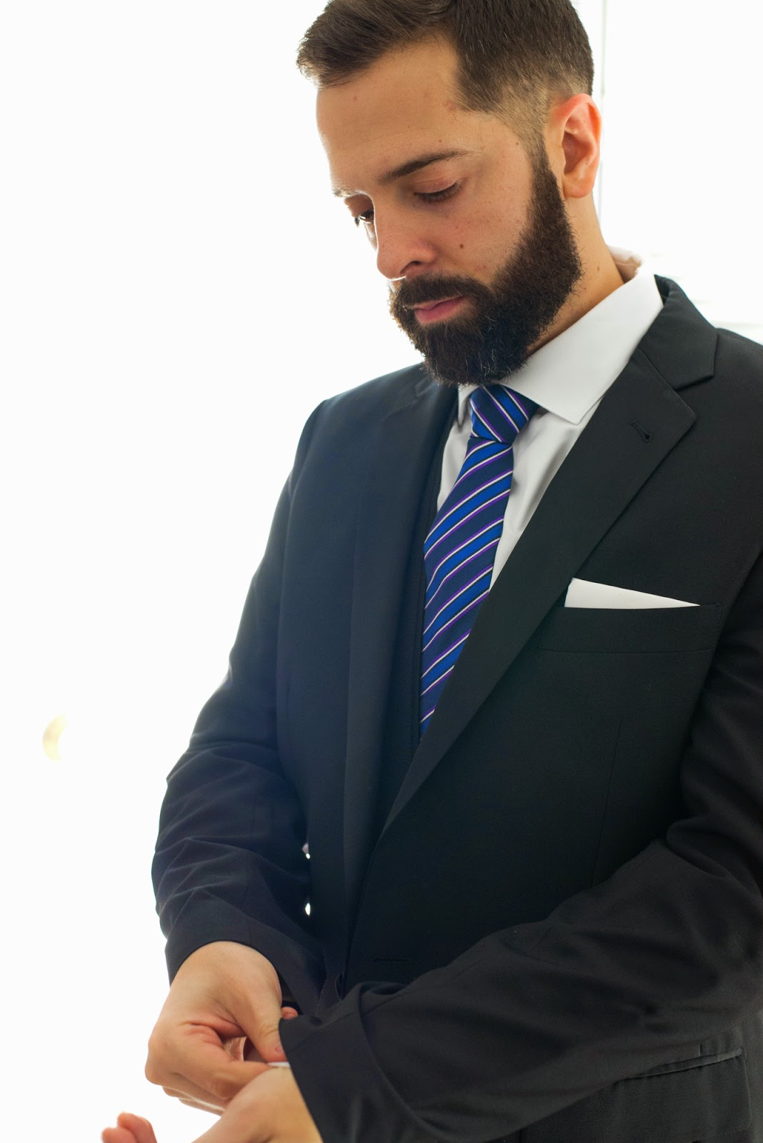 Groom finishing touches - cultivatedrambler.com