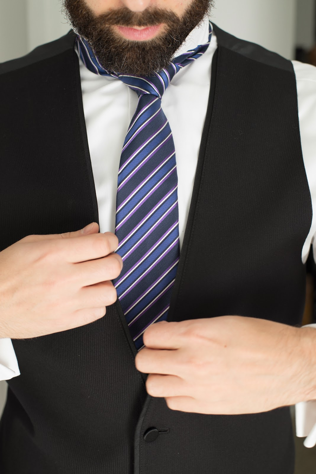 Men's wedding tie - cultivatedrambler.com