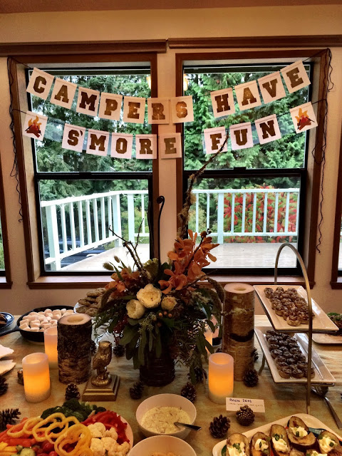 Camping themed bridal shower - cultivatedrambler.com