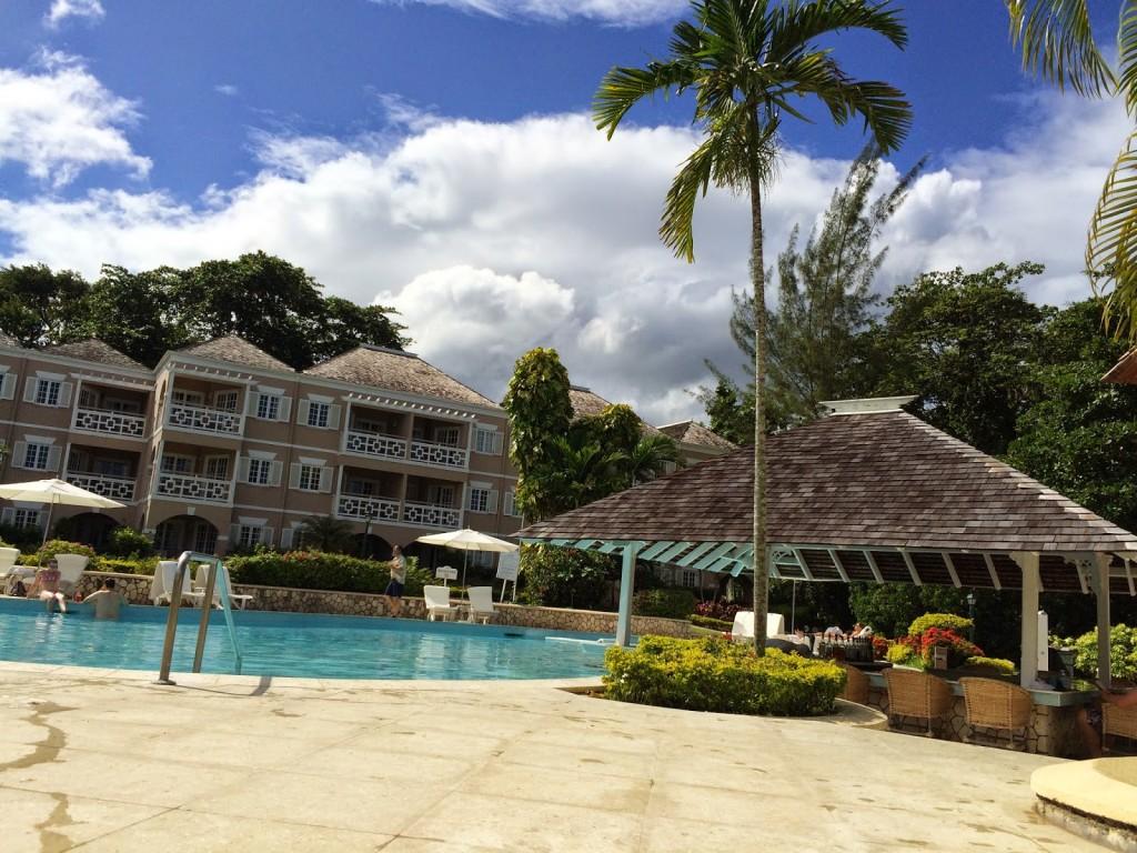 Couples Resort San Souci pool and bar - cultivatedrambler.com