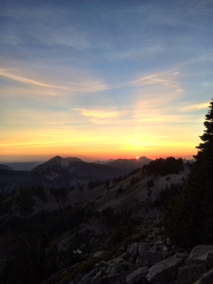 Sunset over Granite Mountain - culitvatedrambler.com