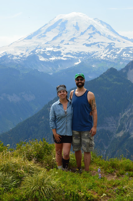 Hiking near Mt. Rainier Shriner Peak - cultivatedrambler.com
