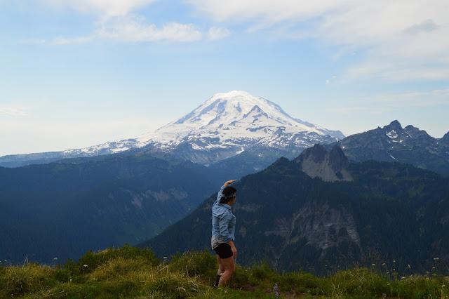 Mt. Rainier from Shriner Peak - cultivatedrambler.com