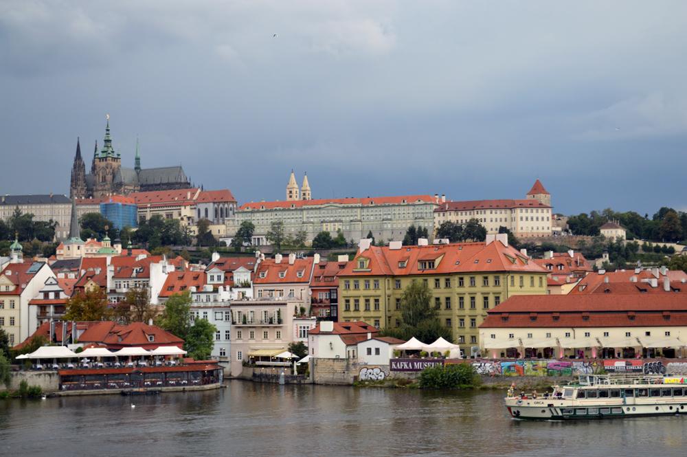 Prague skyline - culitvatedrambler.com