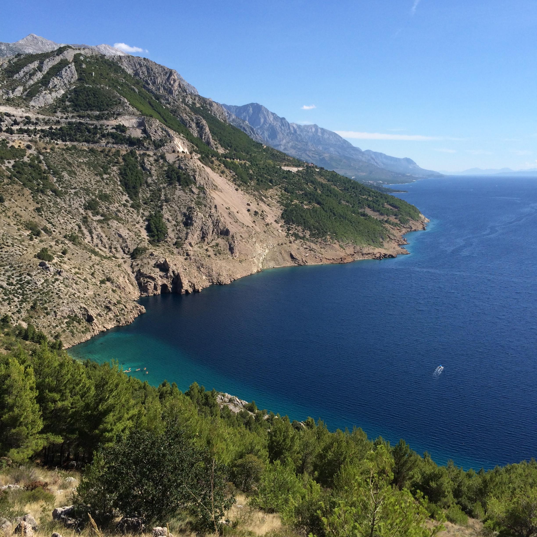 Croatian coastline - cultivatedrambler.com