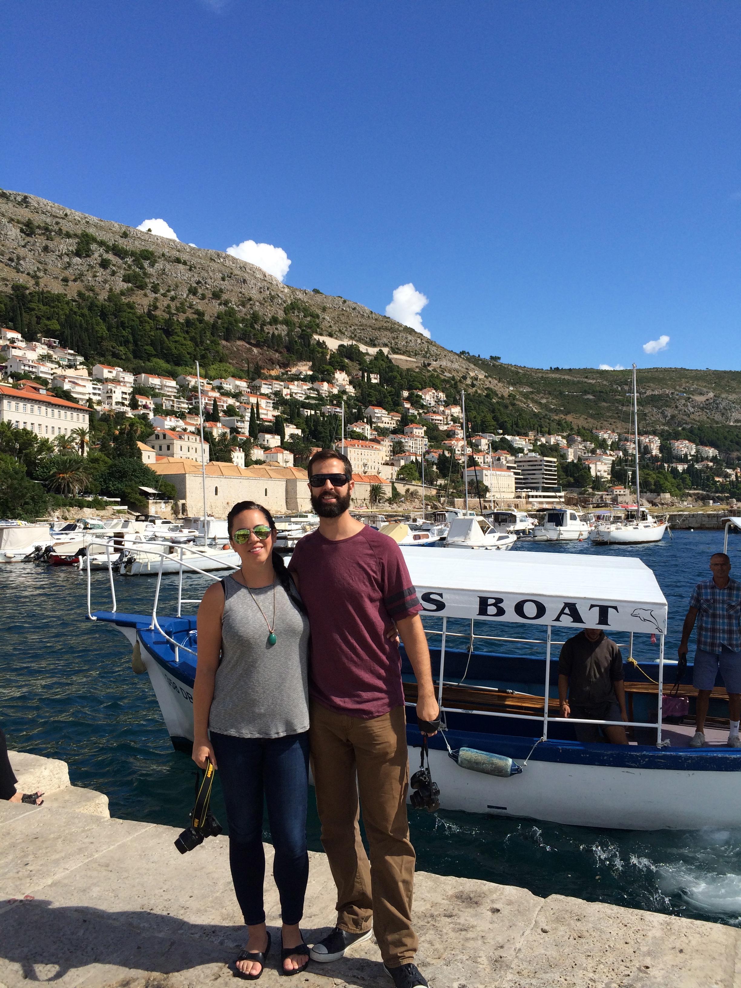 Dubrovnik harbor, Croatia - cultivatedrambler.com