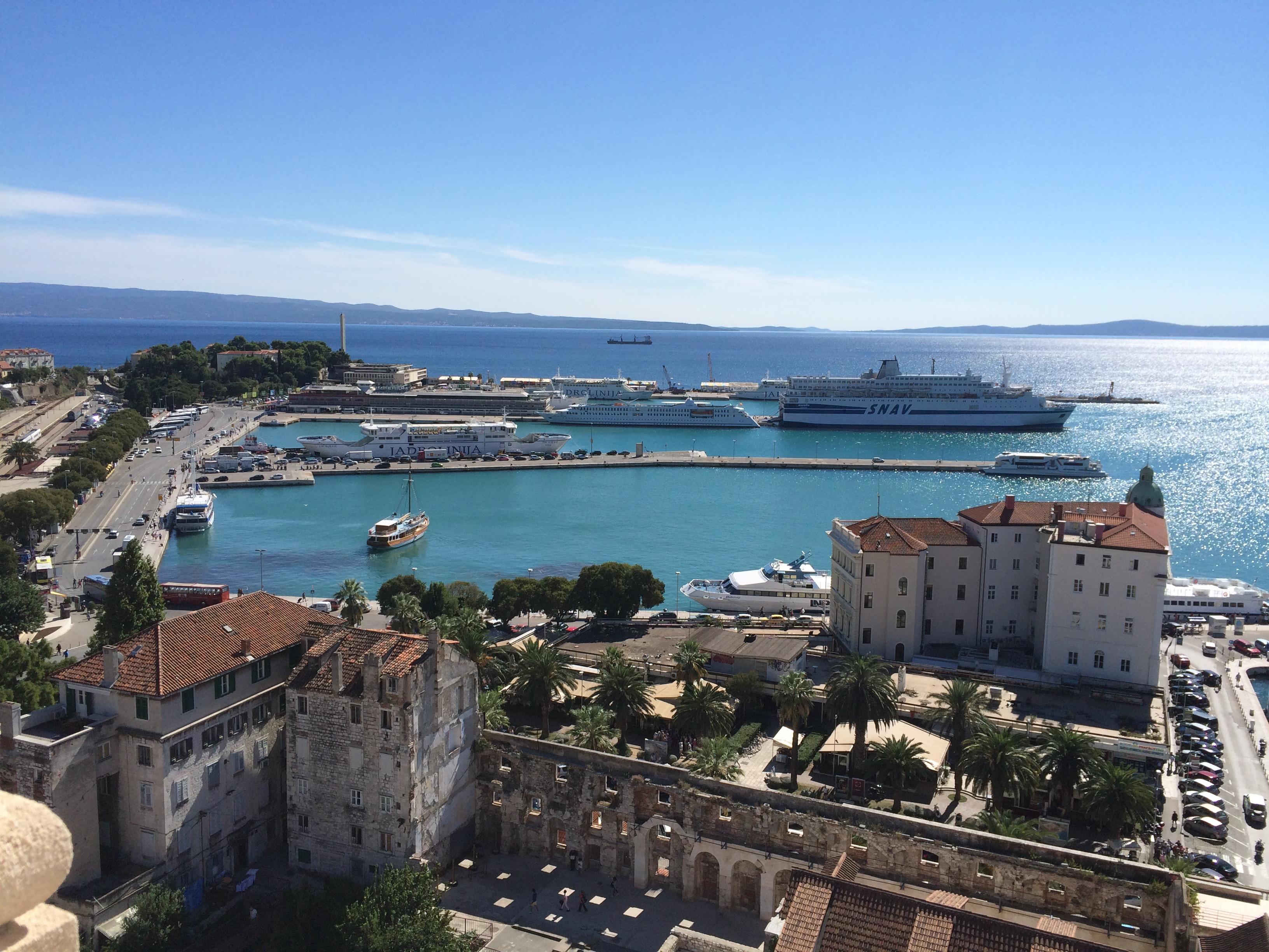 Split ferry terminal, Croatia - cultivatedrambler.com