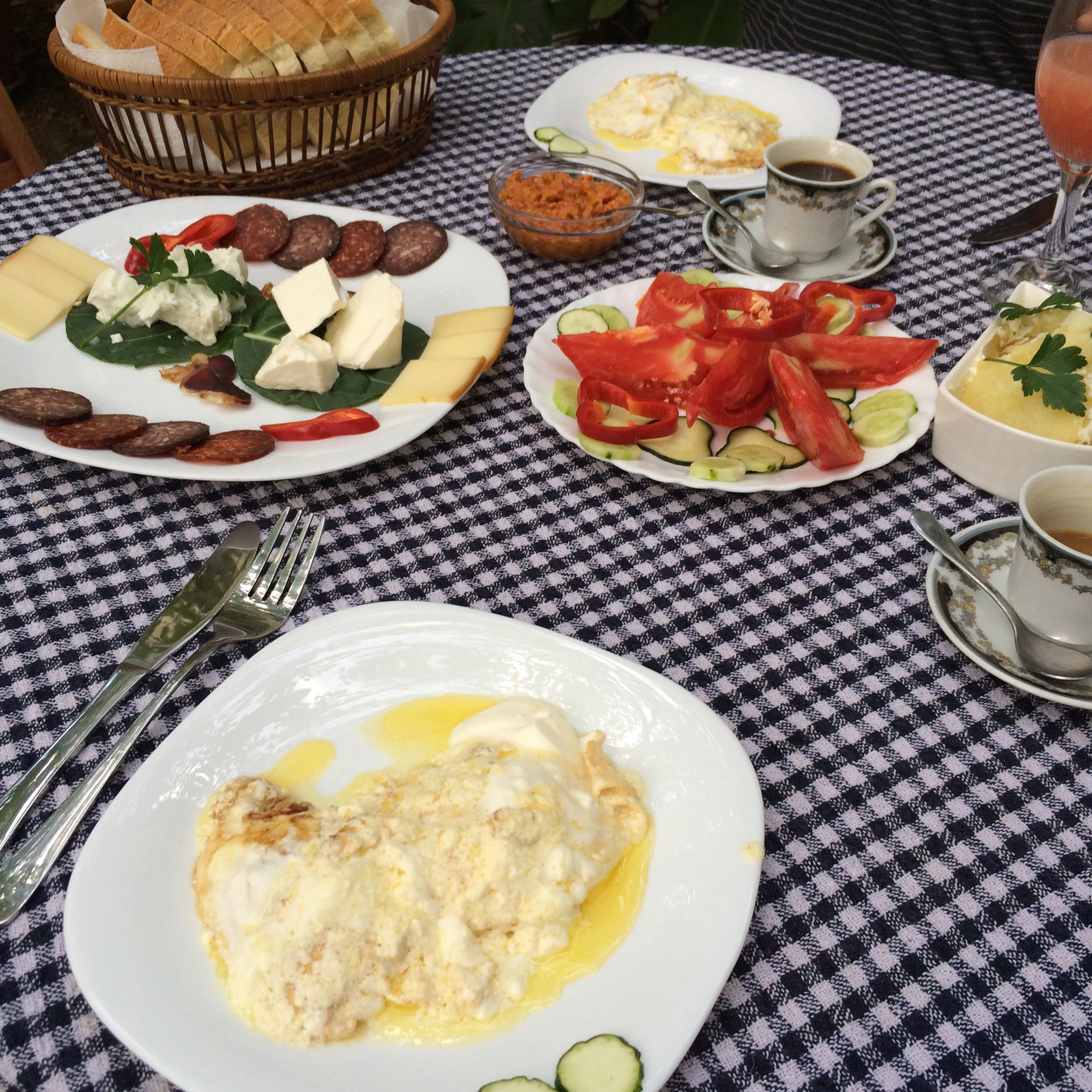 Air bnb host breakfast not to be missed! - cultivatedrambler.com
