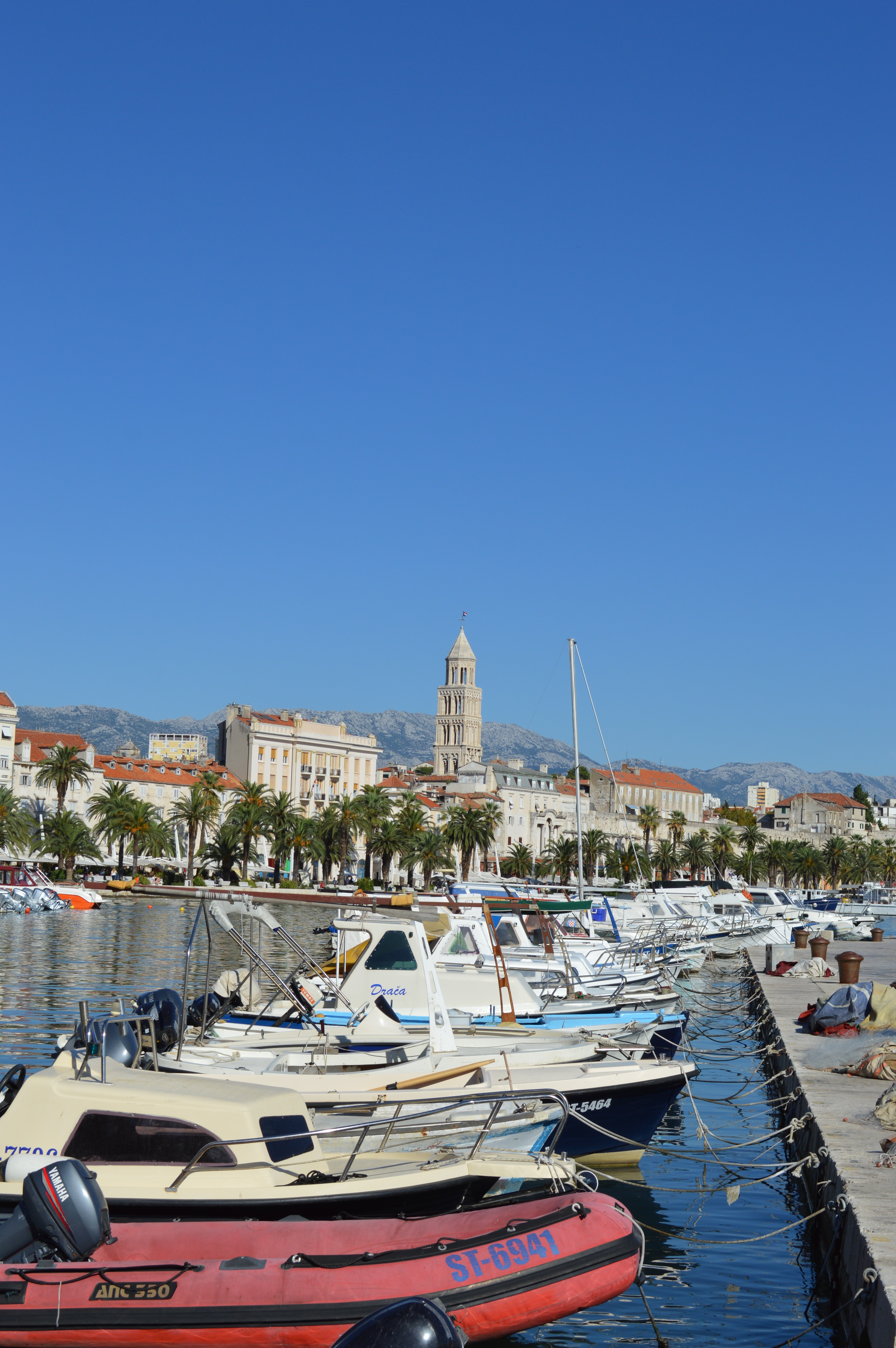 Split waterfront, Croatia - cultivatedrambler.com